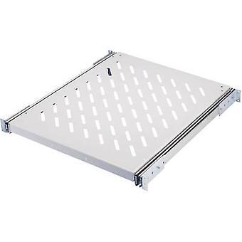 Rittal 7000.625 19 inch Server rack cabinet shelf 0.5 U Rail set Suitable for (cabinet depths): > 600 mm Grey