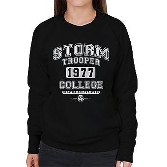 Original Stormtrooper Varsity 1977 College Women's Sweatshirt