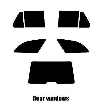 Pre cut window tint - Mercedes C-Class Estate - 1996 to 2000 - Rear windows