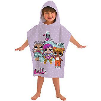 L.O.L. Surprise! Badponcho Bath Towel Poncho 115 * 50cm