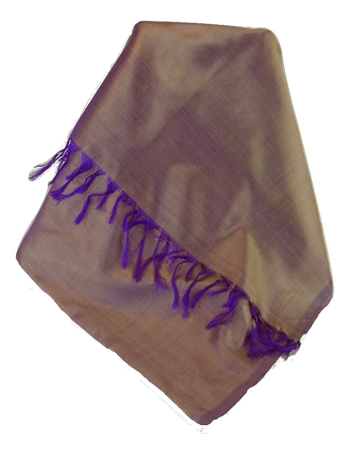 Varanasi Silk Long Scarf Heritage Range Hadi 7 by Pashmina & Silk