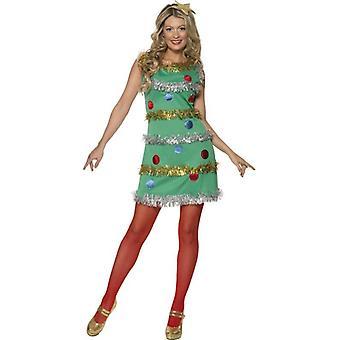 Christmas Tree Dress, UK Dress 8-10