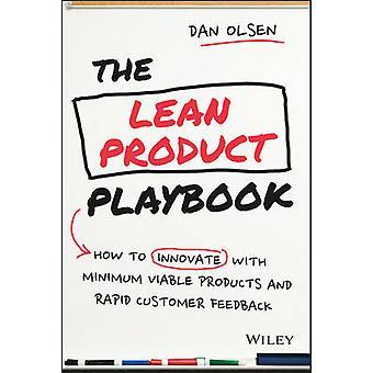 Das schlanke Produkt Playbook - wie man mit minimalen tragfähige Produktion innovieren