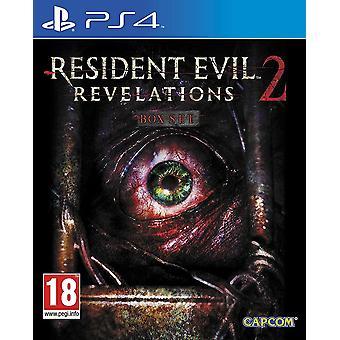 لعبة PS4 آيات الشر المقيم 2