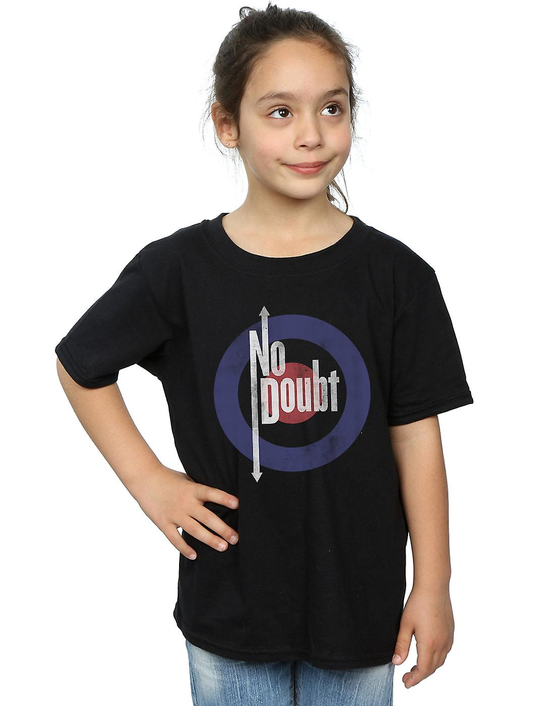 No Doubt Girls Quadro Distressed T-Shirt