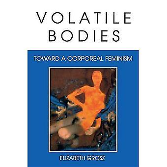 Flüchtige Gremien: Ttoward einer körperlichen Feminismus (Theorien der Darstellung & Unterschied)