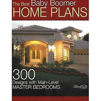 Best Baby Boomer Home suunnitelmat: 300 mallien Main-tason makuuhuone