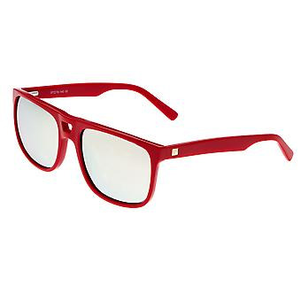 Sixty One Morea Polarized Sunglasses - Red/Gold