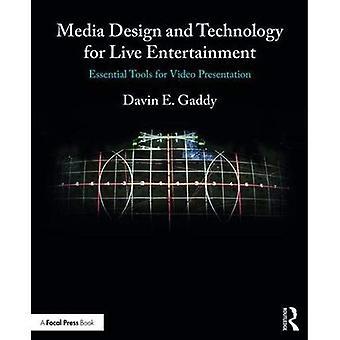 Conception de médias et de la technologie pour divertissements en direct: des outils indispensables pour une présentation vidéo