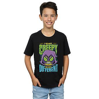 DC Comics pojkar Teen Titans gå läskig korp T-Shirt