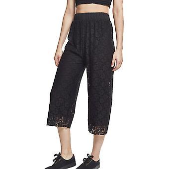 Urban klassikere damer - blonder culotte bukser svart