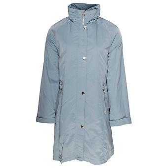 Junge Blue Lightweight Mid Length Raincoat