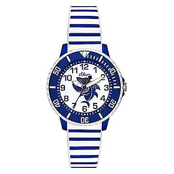 s. Oliver Quartz analogue watch Unisex Silicone wrist watch SO-3499-PQ