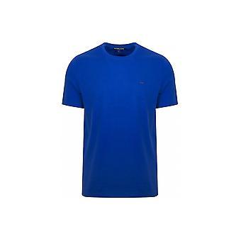 Michael Kors klassieke Grecian blauw T-shirt