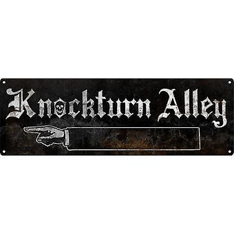 Grindstore Knockturn Alley Slim Tin Sign