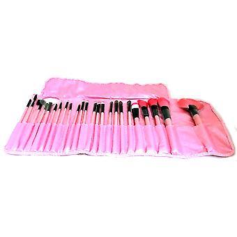 24 st. Rosa London Pride Cosmetics Makeup Brush Set