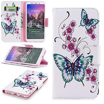 Für Samsung Galaxy A20e Kunstleder Tasche Book Motiv 31 Schutz Hülle Case Cover Etui Neu