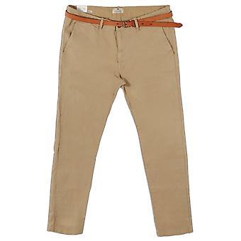 Scotch & Soda Slim Fit Chino Trousers,Stone