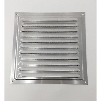 Air Vent Grill – 200 x 200 mm  Metal - Aluminium Rust Free with Mosquito / Bug Net