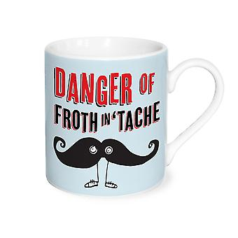 YOLO Mug, Danger of Froth in 'Tache
