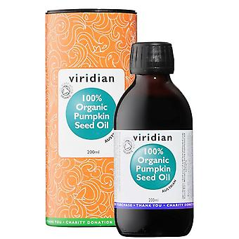 Viridian 100% Organic Pumpkin Seed Oil 200ml (515)
