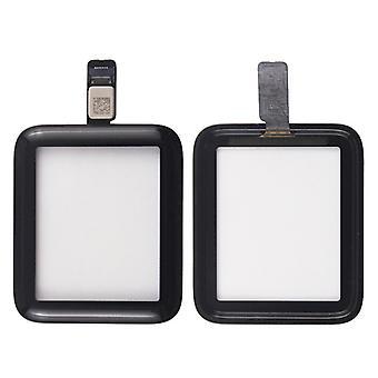 Touchscreen Glas für Apple Watch 2. Generation 42 mm Reparatur Flex Kabel Schwarz
