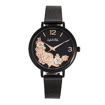 Sophie och Freda Lexington armband klocka-svart