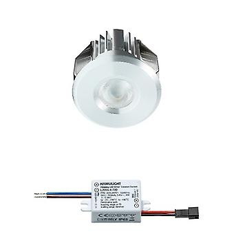 CREE LED recessed Spotlight Benidorm | Branco morno | 3 watts | Regulável