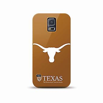 5 Pack - Mizco NCAA Oversized Snapback TPU Case for Galaxy S5 (Texas Long Horns)