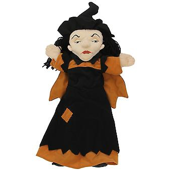 Hand Puppet - Time For Story - Witch Soft Doll Plush PC008408