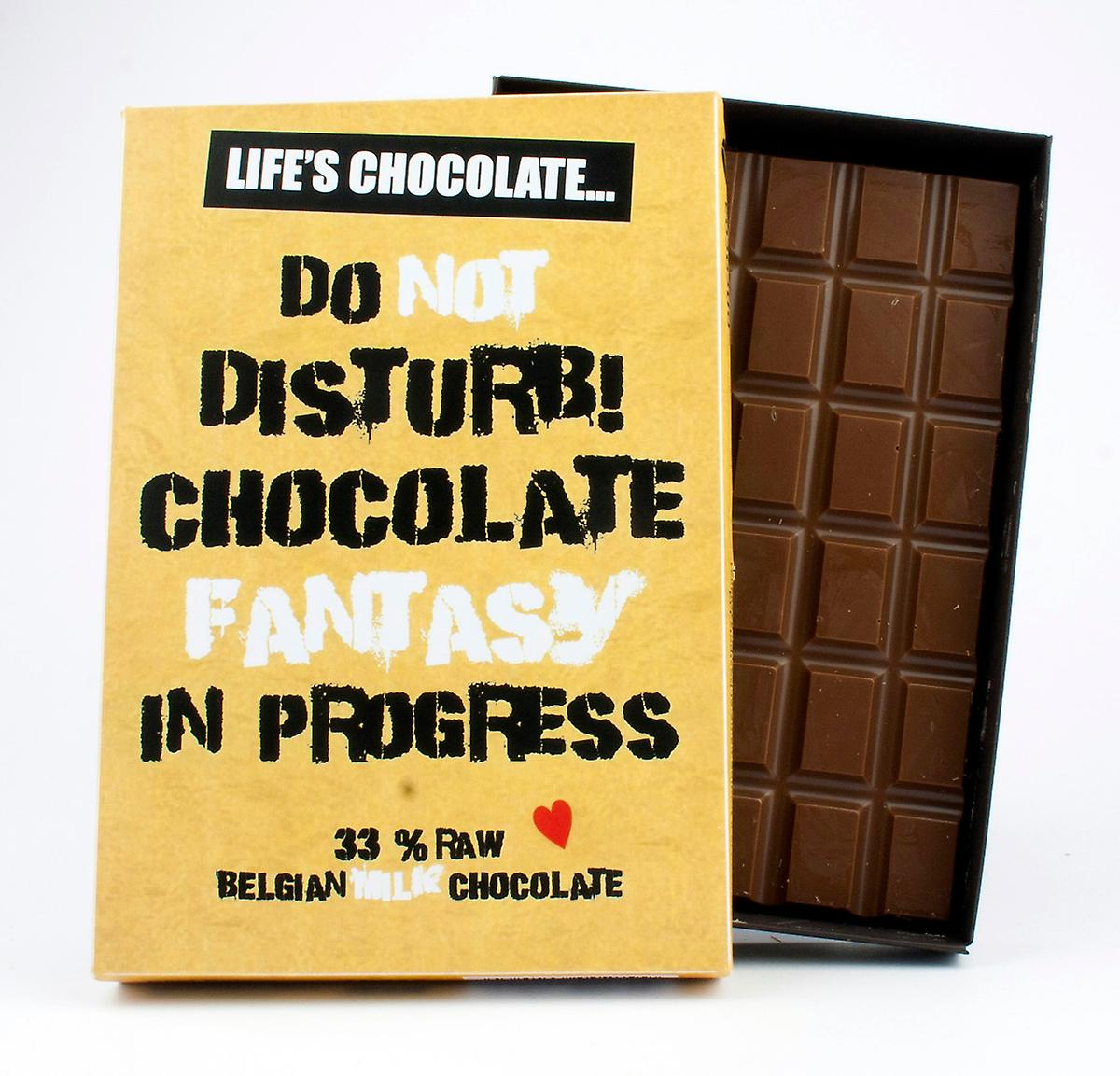 Funny Boxed Chocolate Quote Gift For Men Women Best Friend Greeting Card for Him or Her LC114