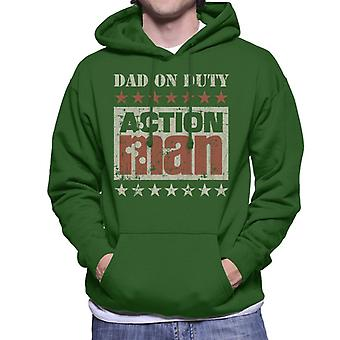 Action Man Dad On Duty Men's Hooded Sweatshirt