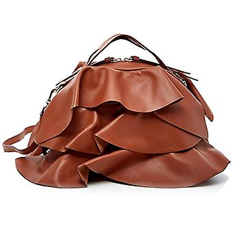Borbonese Sexy With T Handbag Woman Brown (Tobacco) 27x21x16 cm (W x H x L)