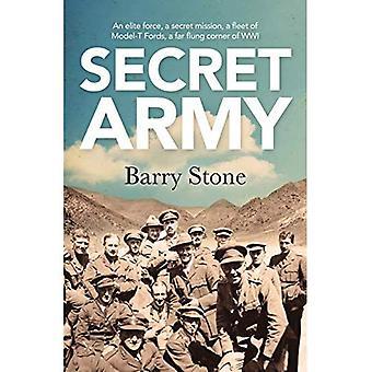 Hemmelige hær: En Elite Force, en hemmelig Mission, en flåde af Model-T vadesteder, en fjerntliggende hjørne af WWI