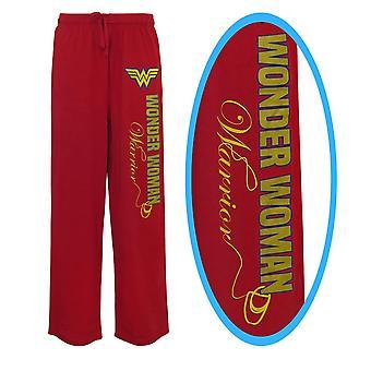 Wonder Woman Foil Logo Unisex Pajama Pantalones