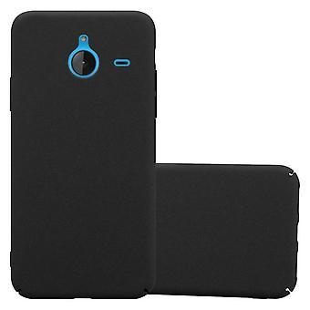 Cadorabo Hülle für Nokia Lumia 640 XL Case Cover - Hardcase Handyhülle aus Plastik gegen Kratzer und Stöße – Schutzhülle Bumper Ultra Slim Back Case Hard Cover