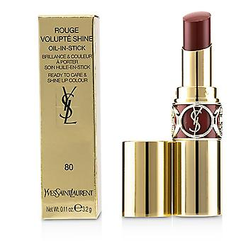Yves Saint Laurent Rouge Volupte Shine-# 80 chili Tunique-3.2 g/0.11 oz