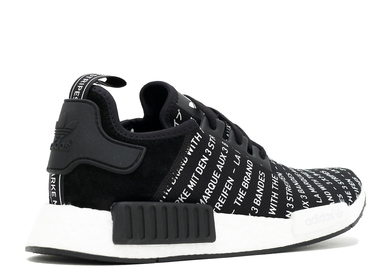 adidas NMD R1 The Brand With The 3 Stripes In Black S76519 h13GW