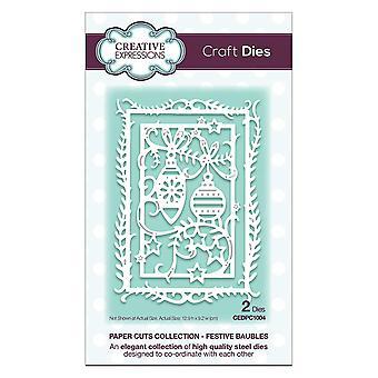 Expressions créatives Craft Dies - papier coupe Collection - décorations festives
