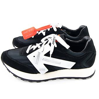 OFF-WHITE Off White Runner Arrow Sneakers Black/White
