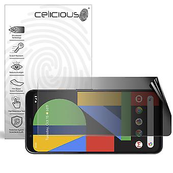 Celicious Privacy 2-Way Landscape Anti-Spy Filter Screen Protector Film Compatible with Google Pixel 4 XL