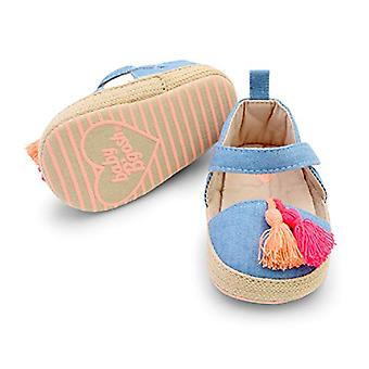OshKosh B'Gosh Kids' Dziewczyny Tassel Espadrille Crib Shoe