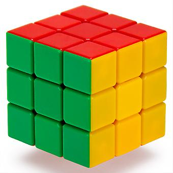 3x3x3 Stickerless 6-Color Speed Puzzle Cube