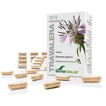 Soria Natural Rough-Star Thistle 33S Prolonged Liberation Capsules 37 gr