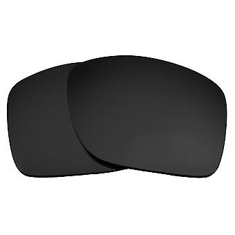 SEEK Replacement Lenses Compatible for Oakley TURBINE Non-Polarized Black