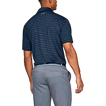 Under Armour Men's Playoff Golf Polo 2.0, Academy//Pitch Gray,, Blue, Size Large