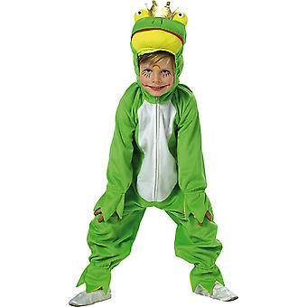 Rana con i bambini corona costume tuta animale costume Carnevale re