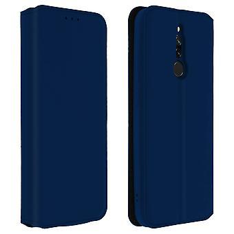 Slim Case Classic Edition Standtasche mit Kartensteckplatz für Xiaomi Redmi 8 / 8A Blau