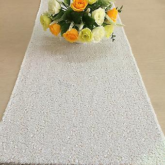 30 x 274cm Shiny Sequin Table Runners