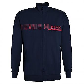 Hugo Boss Leisure Wear Hugo Boss Men's Dark Blue Authentic Sweat Top